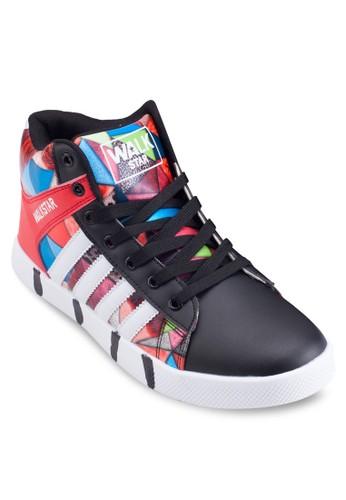 彩色印花繫帶esprit macau運動鞋, 鞋, 鞋