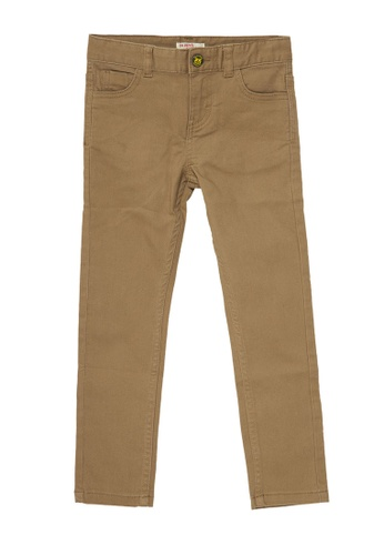 Du Pareil Au Même (DPAM) brown Brown Pants D5C19KA78376F8GS_1