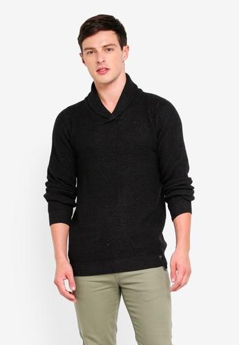 Indicode Jeans 黑色 長袖針織衫 22446AA73B8EA6GS_1
