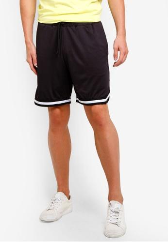 Factorie 黑色 Mesh Shorts C708CAAA3F02C1GS_1