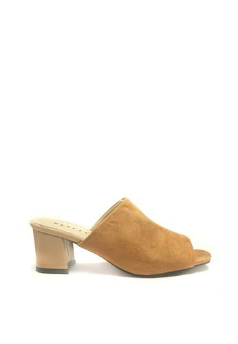 Beauty Shoes brown Beauty Shoes 1413 Heels Tan 0CD8CSH1A0C491GS_1