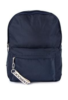 Giles N Brooks navy Min Nylon Backpack B6663ACA0373BBGS 1 2f175f0653be3