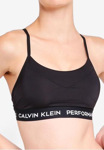 83b6095b95 Buy Calvin Klein Up Panel Sports Bra - Calvin Klein Performance Online