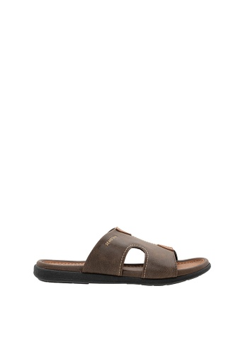 SEMBONIA brown SEMBONIA Men Sandal (Brown) 5C296SH9872AEBGS_1