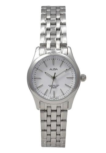 Alba silver ALBA Jam Tangan Wanita - Silver White - Stainless Steel - ARSY33 250FBAC38376B0GS_1