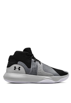 super popular 7a1d8 740d3 Under Armour black UA Anomaly Basketball Shoes EEF1DSHAD2AA7CGS 1