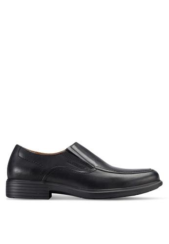Obermain black Ambros Dress Shoes OB115SH45FZEMY_1