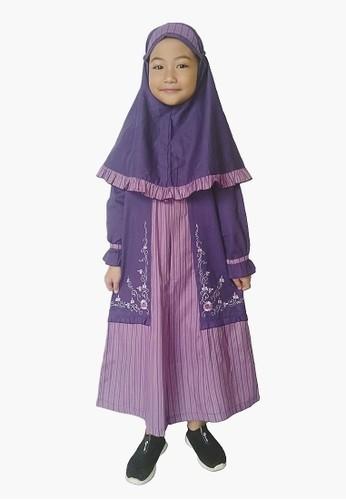 Arafah purple Gamis Anak Kennata 8FAF9KA93E5B5DGS_1