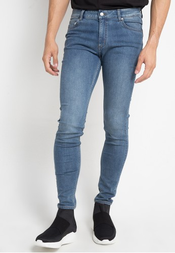 Cheap Monday blue Him Spray Super Skinny Fit B0E37AAE0AD8D4GS_1