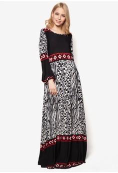 Leopard Princess Jubah