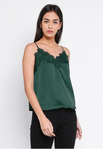 Abercrombie & Fitch green Basic Cami Update Top EFC1AAAA7D6C1AGS_1