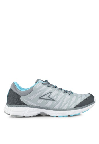 Power 灰色 and 藍色 Power Womens Plazma2 Z8 慢跑鞋 9539FSH6DCA654GS_1