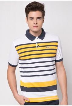 Stripe Classic Polo
