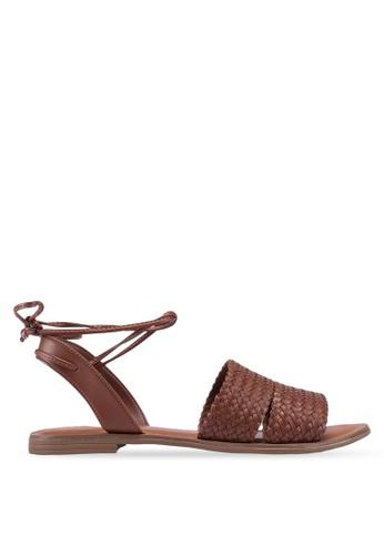 2dc224e663b Buy ALDO Nayrien Tie Up Slingback Sandals Online on ZALORA Singapore