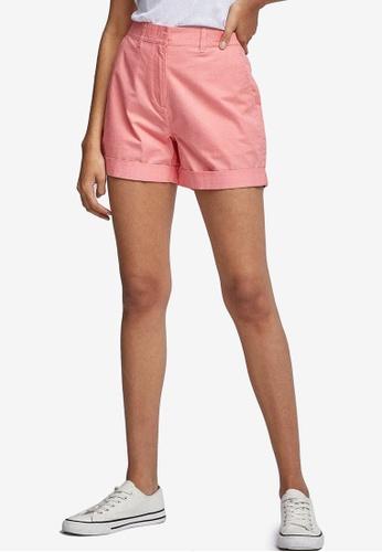 Dorothy Perkins pink Coral Chino Shorts 80726AA4AC9B1BGS_1