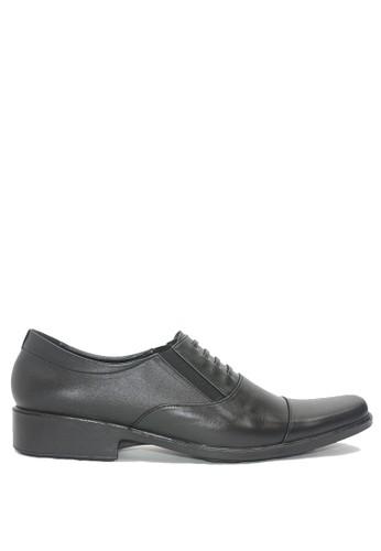 Dr. Kevin black Dr. Kevin Men Dress & Bussiness Formal Shoes 13329 - Black DR982SH0VXATID_1