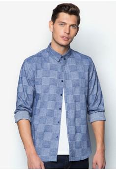 Check Pattern Long Sleeve Shirt