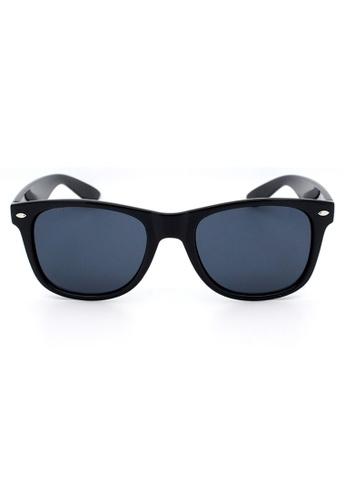 Elitrend black Unisex Classic Designer Sunglasses in Classic Black EL890AC96XDJSG_1
