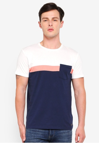 ESPRIT navy Short Sleeve T-Shirt 27036AAD6FEA14GS_1