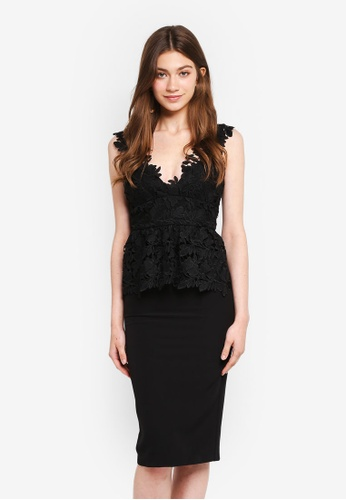 Bardot black Valencia Lace Dress BA332AA0STBTMY_1