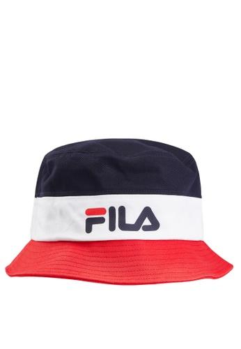 FILA navy Classic FILA Bucket Hat FE9A0ACA916098GS_1