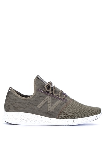 New Balance green Coast Lace-Up Fuel Core Shoes 5D98FSH5086274GS_1
