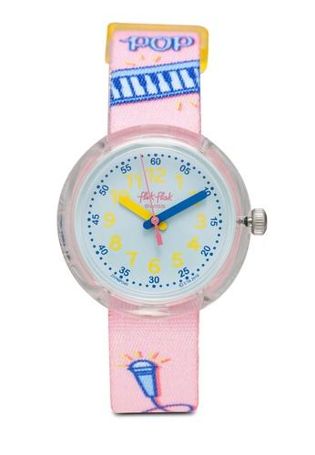 Flik Flak pink Popink Watch 5875BKCDD7C846GS_1