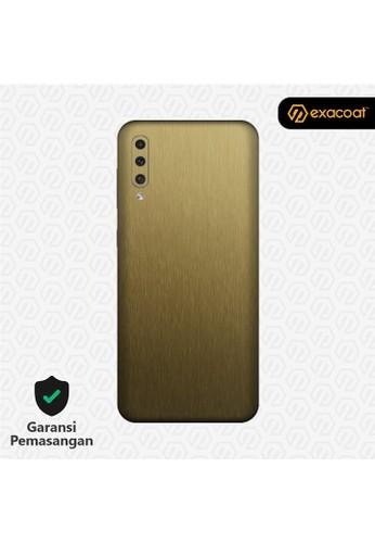 Exacoat Galaxy A50 / A50s 3M Skins Titanium Series - Titanium Gold E5AF0ESF440759GS_1