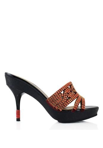 Rotelli red Female Heels RO968SH0U7YYID_1