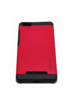 Sleek Shockproof Case for Xiaomi Mi4i (Red)