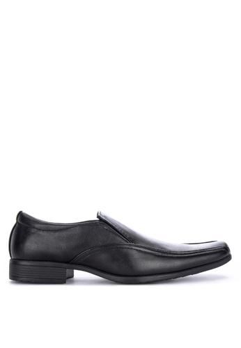 H2Ocean black Fonzy Formal Slip-on Shoes 18B90SH24CC5CFGS_1