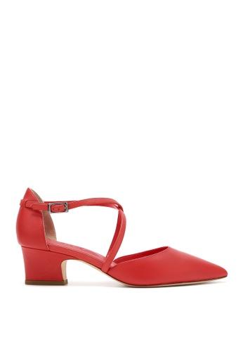 RABEANCO 紅色 RABEANCO KAMILLA 中跟鞋 - 平滑紅色 D98CDSH421F76AGS_1