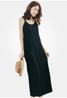 Crossed Out Maxi Dress