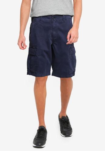 Banana Republic blue Cargo Shorts 64E29AA5EED82EGS_1