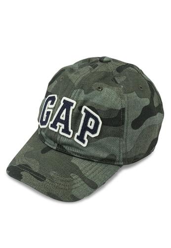 GAP green V-B Logo Cap 56A70KC6471A4DGS_1