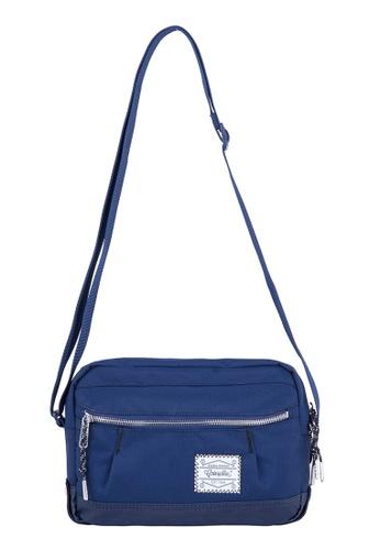 Caterpillar Bags & Travel Gear navy Essential Rebel Shoulder Bag CA540AC21FACHK_1