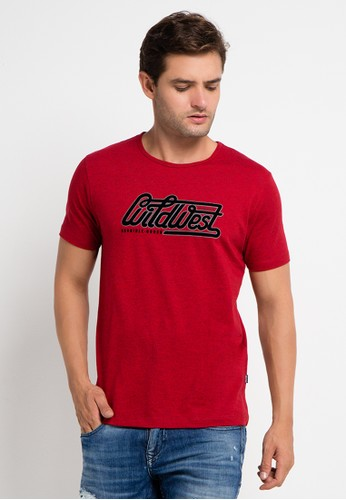 Cressida red Wild West Tee CR235AA0VBUDID_1