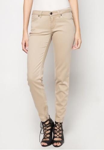 Dolce & Gabbana beige Slim Fit Pants DA093AA12TUDPH_1