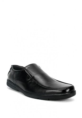 Cardam's Lifestyle black Peter Formal Shoes 22A30SH2A49EFBGS_1