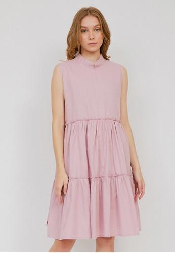 madeleine pink JESSY PINK DRESS 45C70AA21533ABGS_1