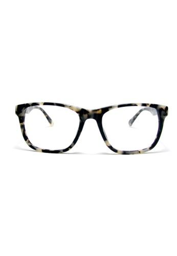 Buy 2i\'s to eyes Large Round Frame│Acetate Eyewear│Black Marble ...