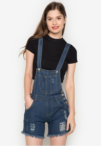 stunning denim jumper shorts outfit 16