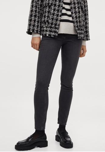 H&M grey Skinny High Jeans 60EDCAAD5789E7GS_1