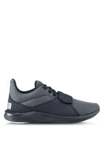 Puma black and white Prodigy Shoes PU549SH0SWDBMY_1