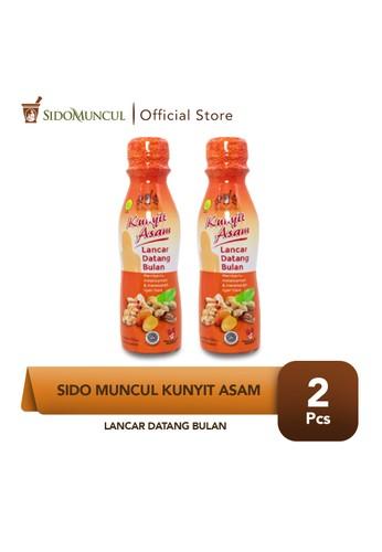Sido Muncul orange Sido Muncul Kunyit Asam Lancar Datang Bulan Haid Botol 2x150 ml E9593ESCDCE44BGS_1