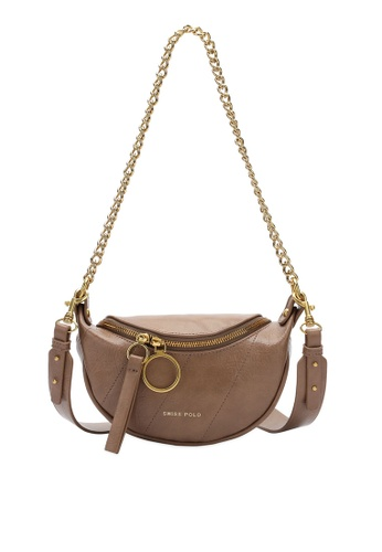 Swiss Polo brown Swiss Polo Ladies Sling Bag 3E896ACDCF6E15GS_1