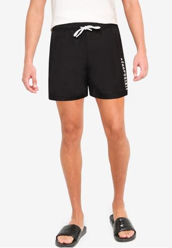 Aeropostale black A87 Swim Shorts FD922US228E4B1GS_1