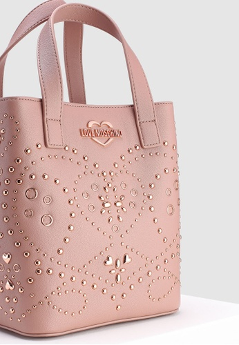 eba5b7d091a0 Shop Love Moschino Shoulder Bag With Brogue Detail Online on ZALORA  Philippines