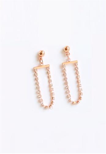 Crystal Korea Fashion pink South Korea Made New Allergy Gorgeous Diamond Earrings FB8D9AC87E7F38GS_1