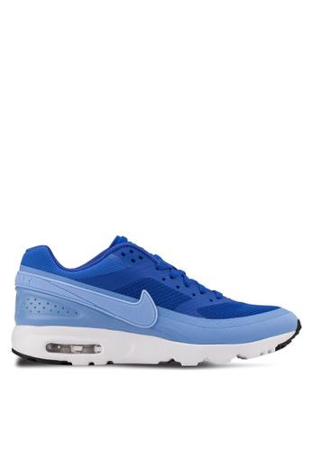 Nike white and blue W Air Max BW Ultra Sneakers NI126SH05BMGSG_1